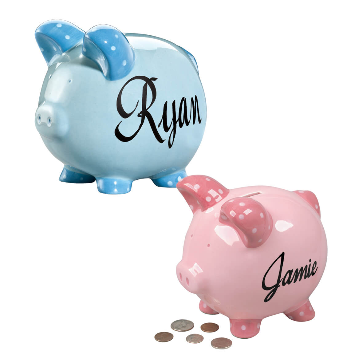 Personalized Kids Piggy Banks