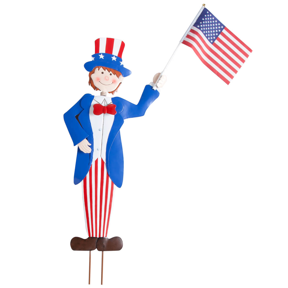 Uncle Sam Garden Boy Stake